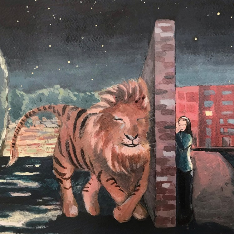 Le conversazioni notturne, racconto di Chiara Mancinelli, illustrazione di Daniela Calandra
