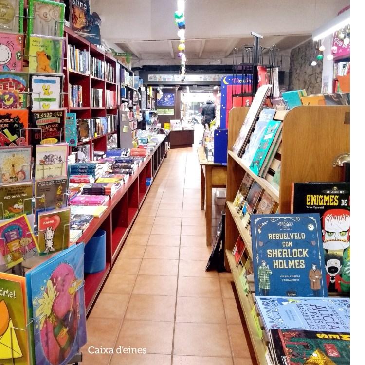 Rutas librarias. Librerias de Barcelona. Caixa d'eines.