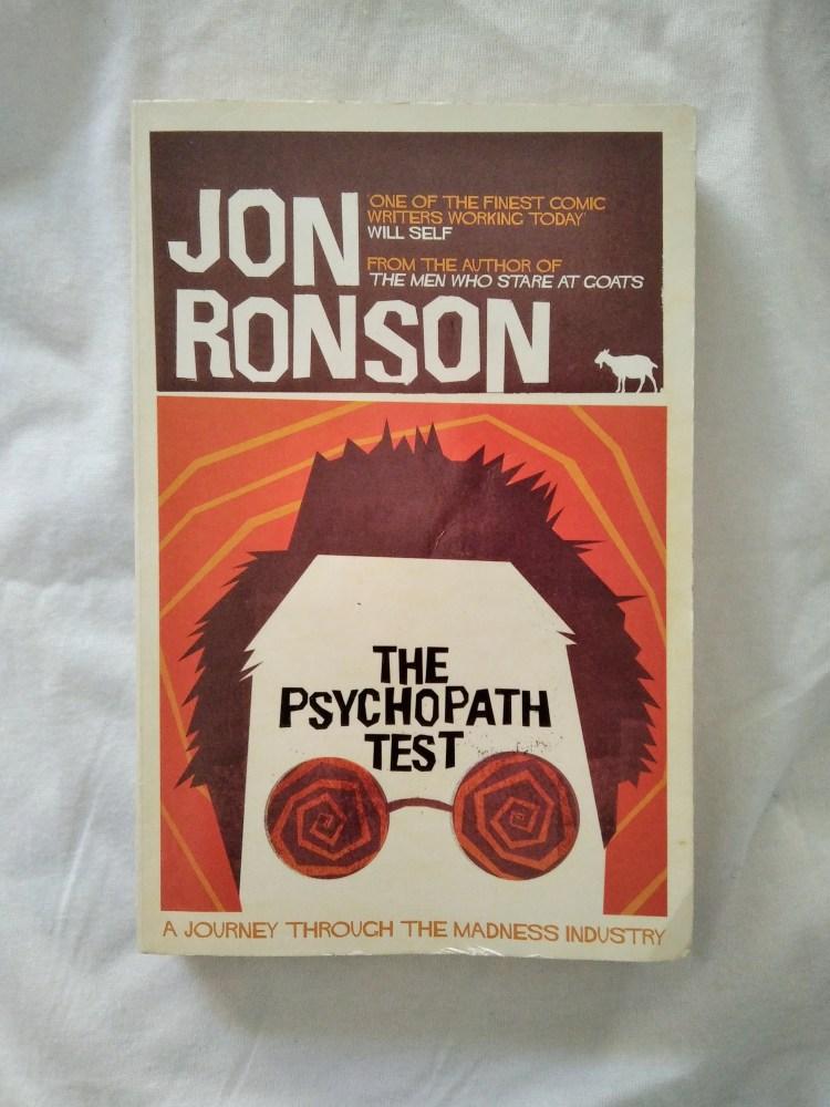 Jon Ronson, The Psypchopath Test (Pan MacMillan, 2012), recensione di MAFA su volat.blog