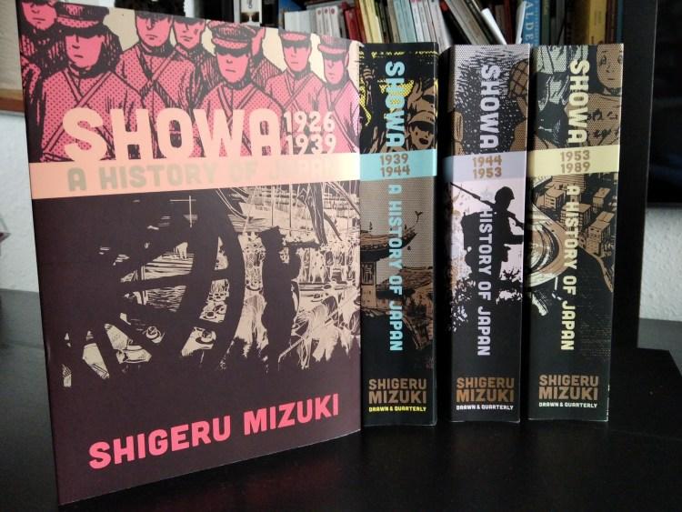 Showa. A History of Japan (Shigeru Mizuki), 4 volumi (inediti in italiano). Recensione di MAFA.