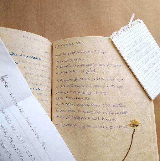 8 dicembre 2004 è una poesia di Chiara Mancinelli che fa parte della serie L'amore giovane
