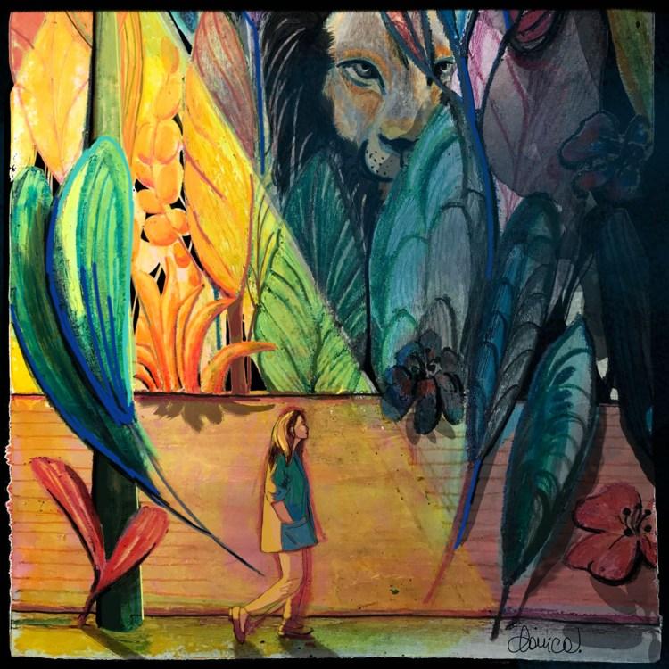 Las conversaciones nocturnas es un cuento de Chiara Mancinelli ilutrado por Daniela Calandra.
