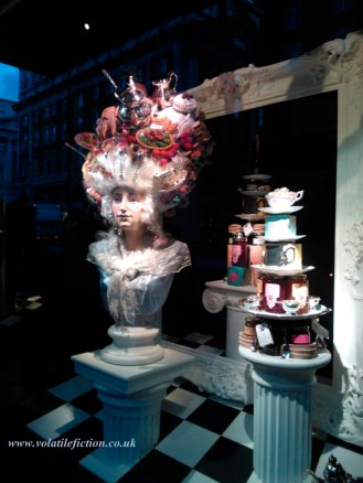 A window display at Fortnum's.