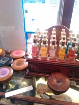 Refined old-style colognes at Trumper's. I liked everything I smelled.
