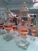 More Caron urns at Fortnum's.