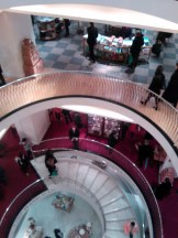 Stairs at Fortnum's.