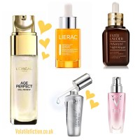 Serums I have known and loved - the best serums for ageing combination skin