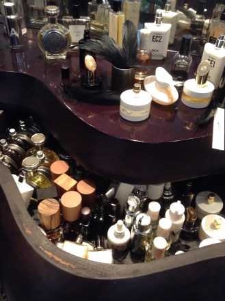 The treasure chest at Avery perfumery