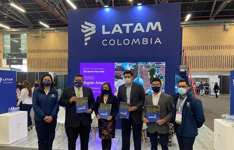 IDT y LATAM promueven a Bogotá como destino turístico | volavi