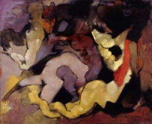 Dorothea Tanning - Même les jeunes filles - Huile sur toile - 1966
