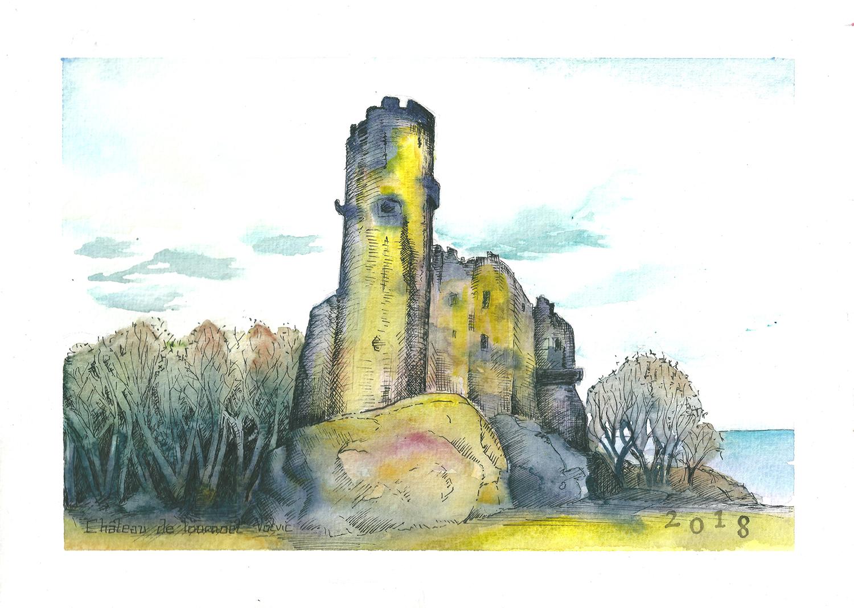 Celine-Barrier-le chateau de tournoël, france