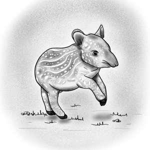 Gallïane Murmures – Bébé Tapir