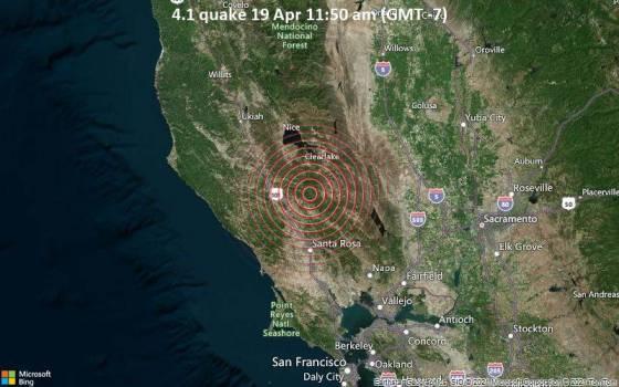 4,1 gempa 19 Apr 11:50 (GMT -7)