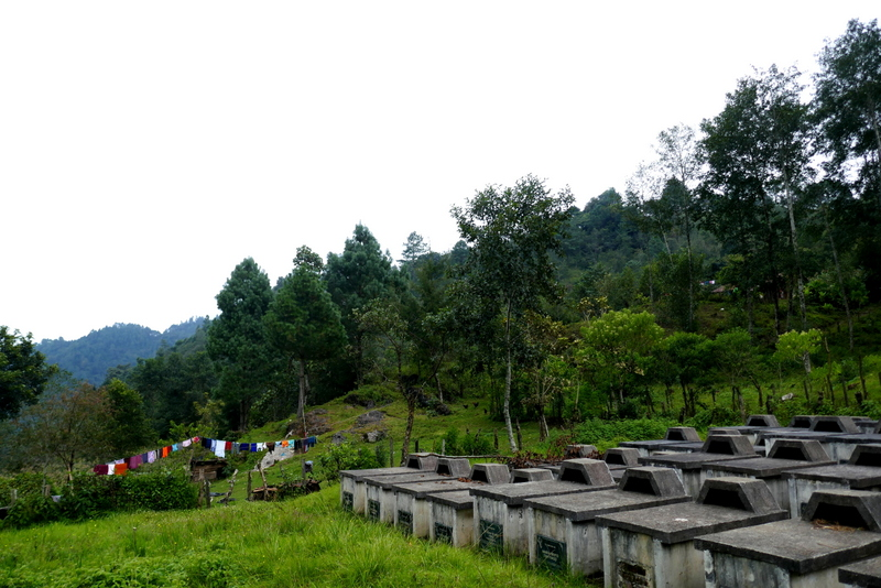 Graveyard in Cocop, near Nebaj.