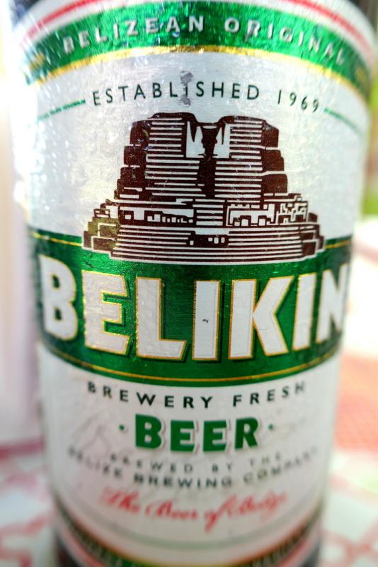 Belikin Beer: the most common beer in Belize.