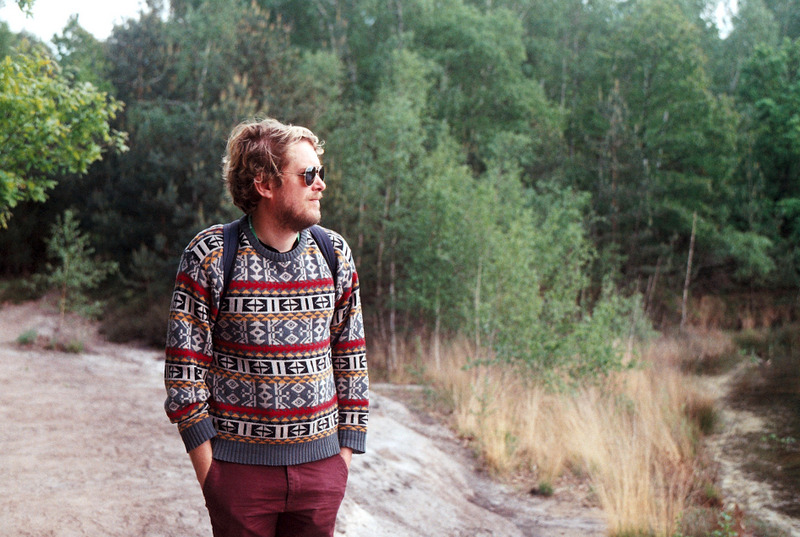 Tom in nature during De Molse 60.