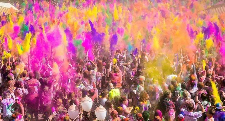 Holi, el Festival de los Colores en India: Todo lo que debés saber