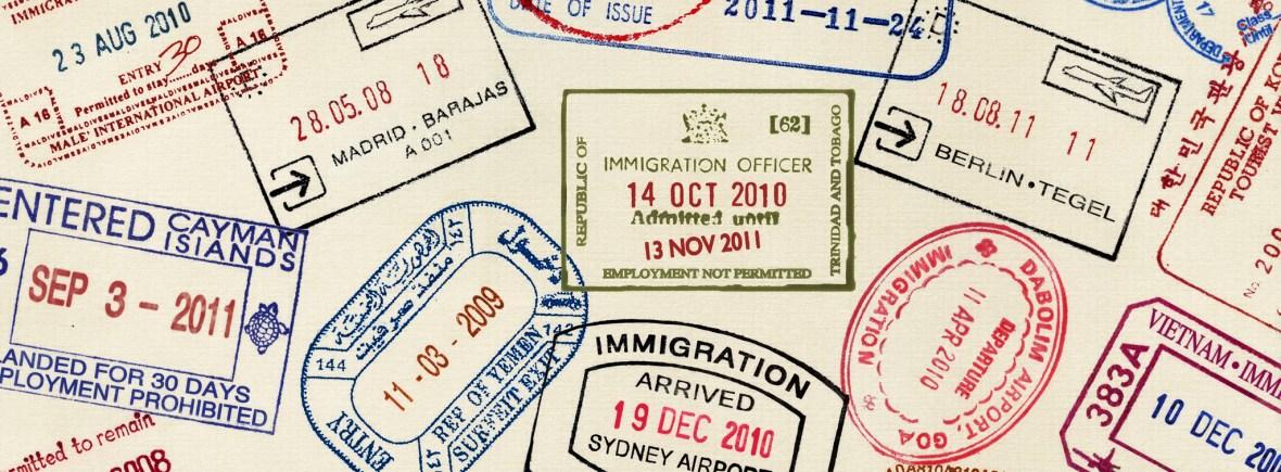 חותמות בדרכון דרום אמריקה ספרד