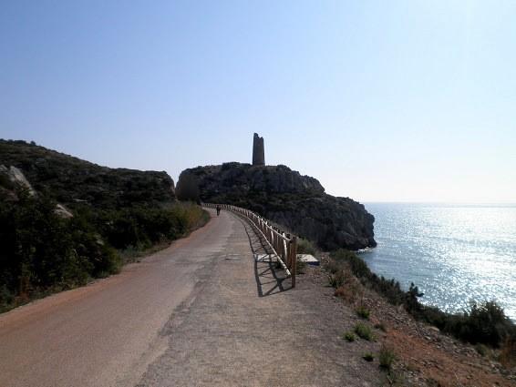 Cicloruta Vía Verde del Mar