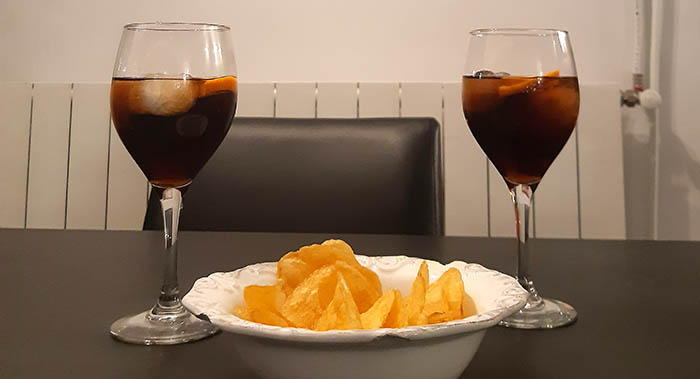 Vermouth with potatoes