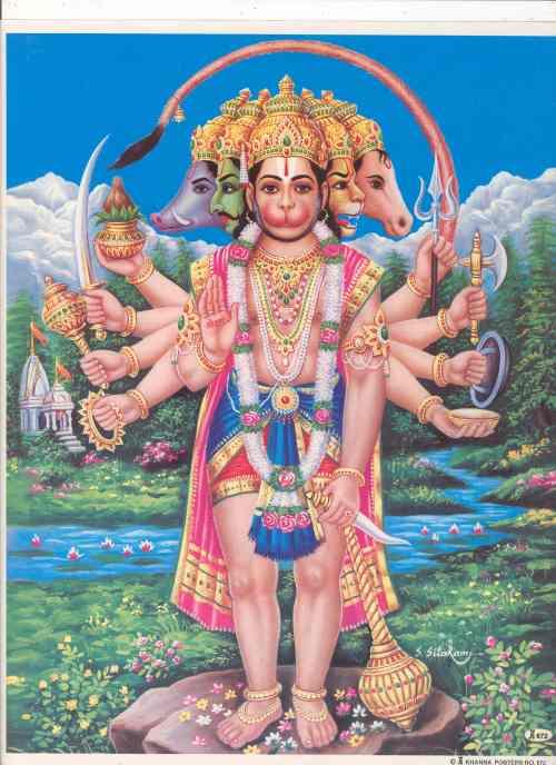 Panch Hanuman