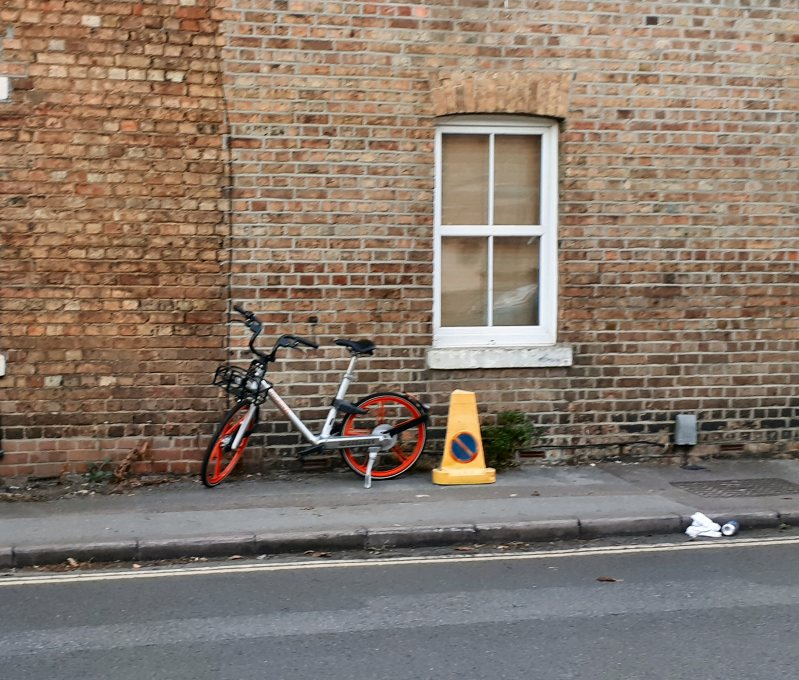 Mill Street, Oxford, Smart Bikes