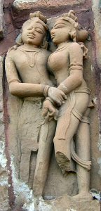 Khajuraho couple