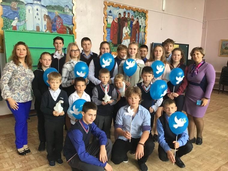 День Мира в Староладожской школе