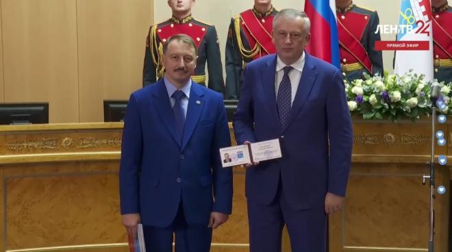 В Доме Правительства прошла инаугурация Дрозденко