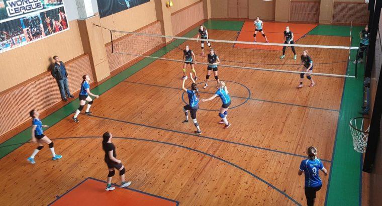 Турнир среди женских волейбольных команд в Сясьстрое