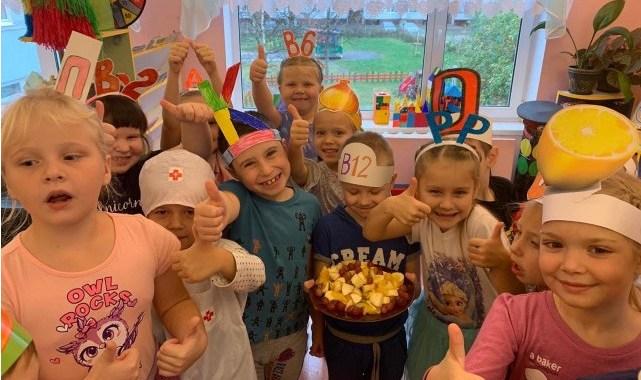 Сясьстройские малыши узнали о полезном питании