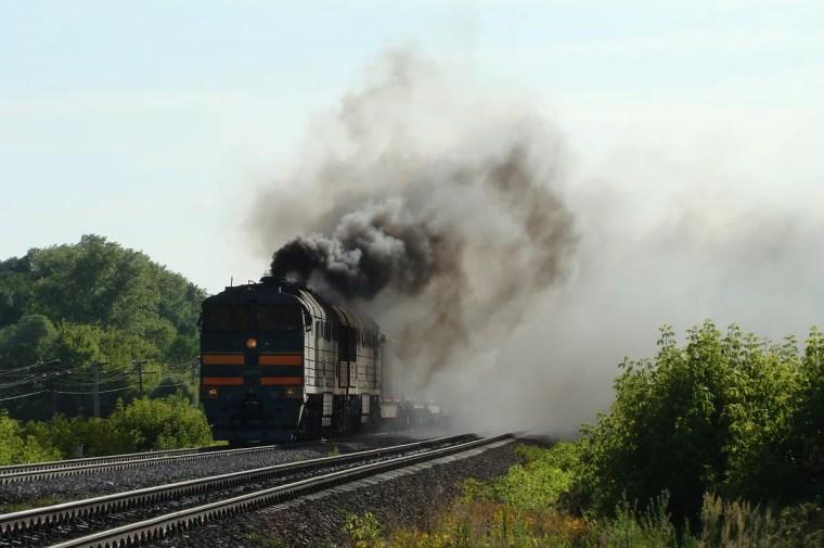 На станции Волховстрой горел вагон грузового поезда
