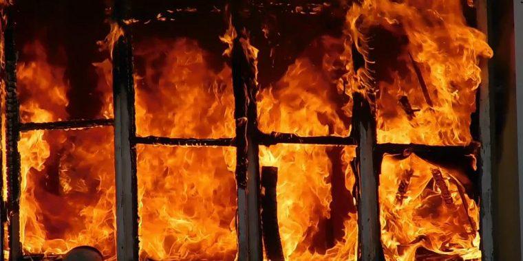 Пожар в Селиваново потушен