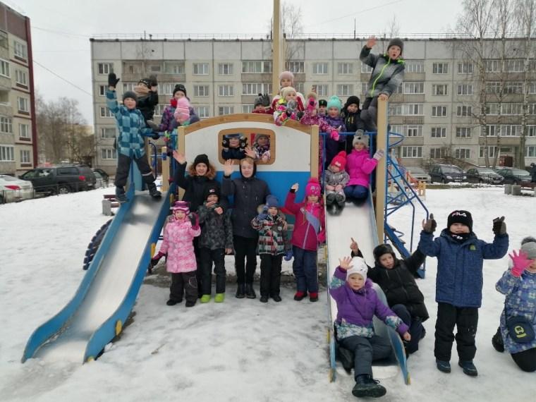 В Сясьстрое весело встретили Рождество