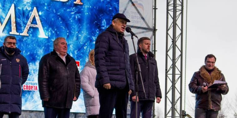 В городе Гатчина 26 февраля 2021 года стартовал V Всероссийский фестиваль дворовых видов спорта «Русская зима»