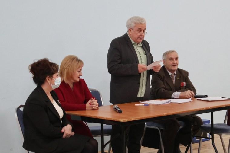 Ветераны Сясьстроя провели отчётно-выборное собрание