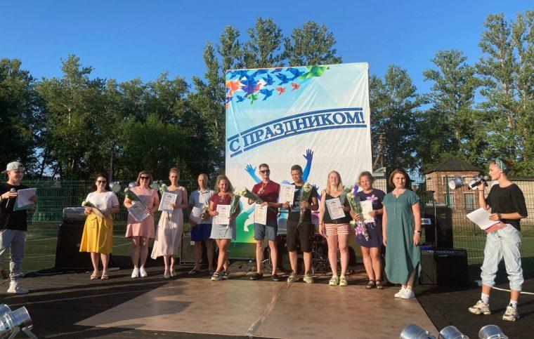 Молодёжный фестиваль в Сясьстрое