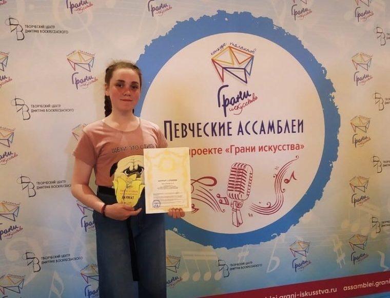 Талант Волховского ДДЮТ побеждает в вокальном конкурсе