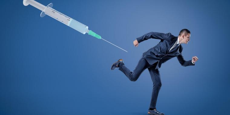 Готов отказаться от работы, чтобы не делать прививку