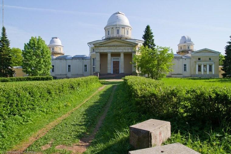 Закладка главного здания Пулковской обсерватории