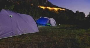 kamp najbolji način da se doživi priroda