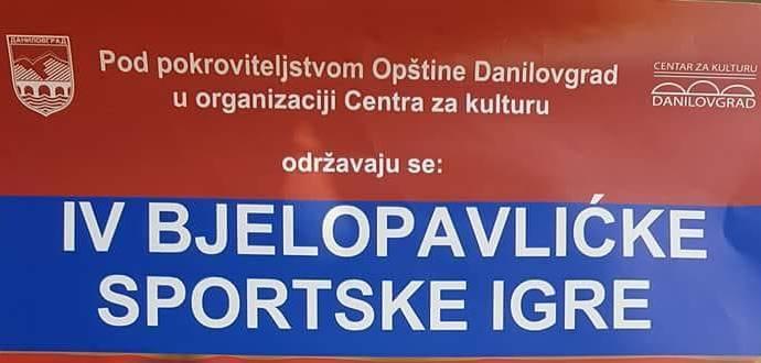 IV Bjelopavlićke sportske igre
