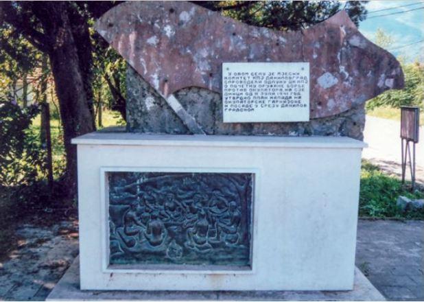 Spomenici u Danilovgradu
