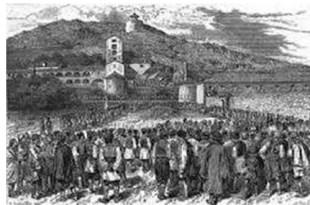Danilovgrad je najveće naselje u Bjelopavlićkoj ravnici, koja je dobio ime po lokalnom plemenu Bjelopavlići, koje se prvi put pominju u jednom dokumentu, datiranom 4. avgusta 1411. godine