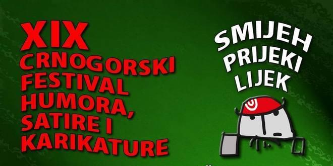 XIX CRNOGORSKI FESTIVAL HUMORA, SATIRE I KARIKATURE