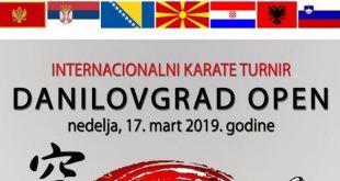 """U nedjelju se održava """"Danilovgrad open"""""""