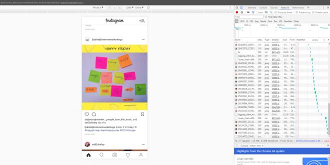 kako dodati fotografije na Instagram sa laptopa ili desktop računara
