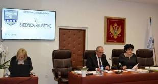Najava VIII sjednice Skupštine Opštine Danilovgrad