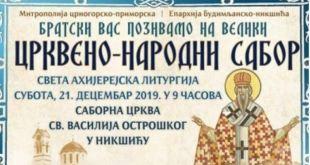 Veliki Crkveno-narodni sabor u Nikšiću