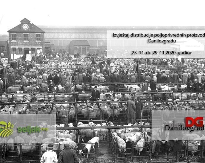 Seljak.me i VD: Izvještaj distribucije poljoprivrednih proizvoda u Danilovgradu